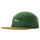 Fleece Nylon Mix Camp Cap - Green