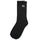 Basic Logo Crew Socks - Black