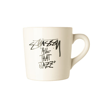 스투시 머그 Stussy All That Jazz Mug,White
