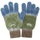 Earth Day Knit Gloves - Olive