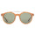 LUCA SUNGLASS - MATTE HONEY/GREEN