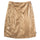 Shiny Panel Skirt - Bronze