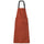 Nylon Convertible Apron Dress - Brick