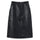 Ren Leather Skirt - Black