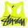 MYLA SWIM TOP - NEON YELLOW