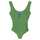 Coastline One Pc Swim Suit - Grass