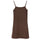 Tonal Jacquard Dress - Brown