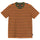 Diamond Jacquard Stripe Shirt - Orange