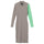 Pike Color Block Dress - Taupe