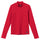 Britton Solid Interlock Ls Tee - Red
