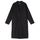 Long Light Nylon Coat - Black