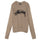 Brushed Out Logo Sweater - Taupe