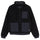Convertible Sherpa Jacket - Black