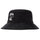 Stock Crown Bucket Hat - Black