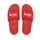 Stüssy / Nike Slide Sandals (Habanero Red) - Habenero Red/White