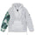 Stüssy / Nike Insulated Pullover Jacket - White/Gorge Green
