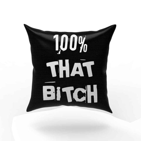 100 Percent That Bitch Lizzo Pillow Case Cover