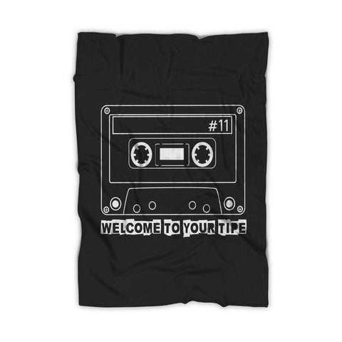 13 Reasons Why Welcome To Your Tape Cassette Tape Blanket