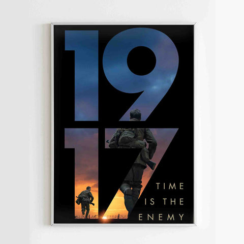 1917 Time Is The Enemy Poster