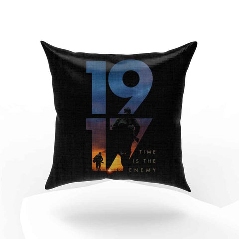 1917 Time Is The Enemy Pillow Case Cover