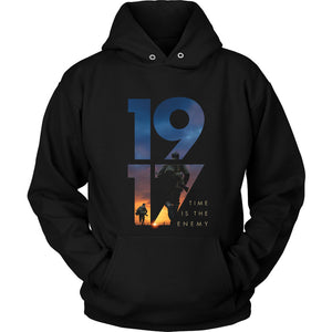 1917 Time Is The Enemy Unisex Hoodie