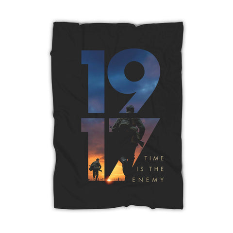 1917 Time Is The Enemy Blanket