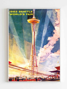 1962 Seatle Worlds Fair Poster