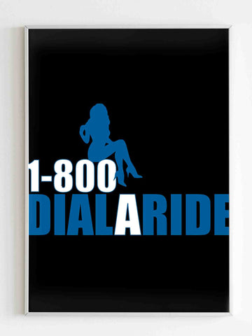 1 800 Dial A Ride Poster