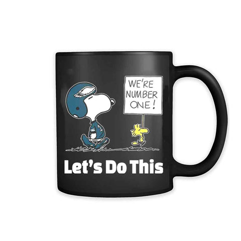 1philadelphia Eagles Snooopy We Are No1 11oz Mug
