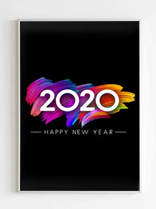 2020 Happy New Years Poster