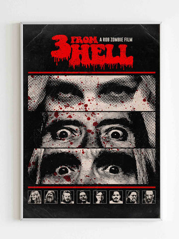 3 From Hell Art Poster