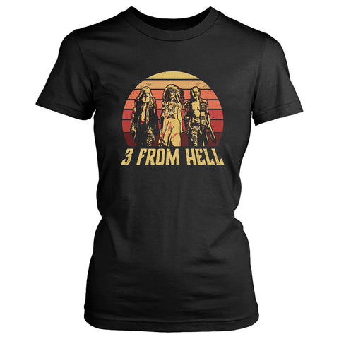 3 From Hell Friends Retro Vintage Women's T-Shirt