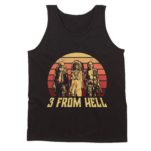 3 From Hell Friends Retro Vintage Men's Tank Top