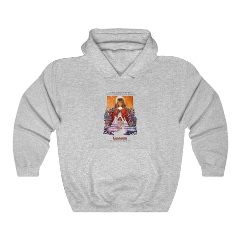 Labyrinth David Bowie 86 Film Retro Cool Hipster Unisex Hoodie