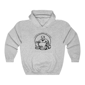 I Have The Body Of A God Funny Fat Guy Unisex Hoodie