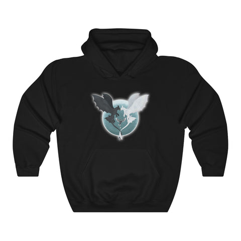 How To Train Your Dragon Light And Night Fury Unisex Hoodie