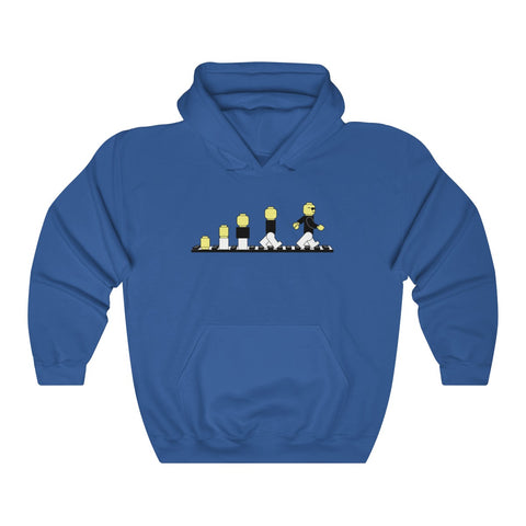 Evolution Of Lego Man The Lego Movie 2 The Second Part Unisex Hoodie