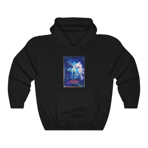 How To Train Your Dragon The Hidden World Poster Unisex Hoodie