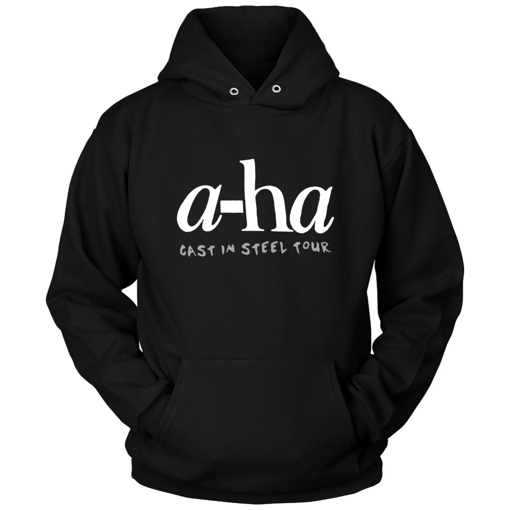 A Ha Aha Cast In Steel Tour Unisex Hoodie