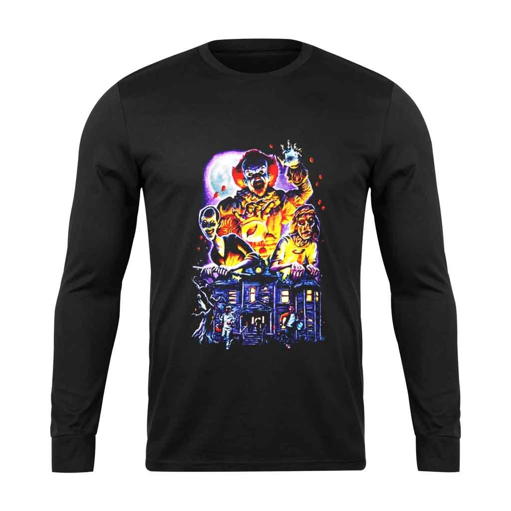 Afraid Of Pennywise Long Sleeve T-Shirt