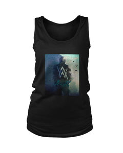 Alan Walker On May Way Poster Sky Women's Tank Top