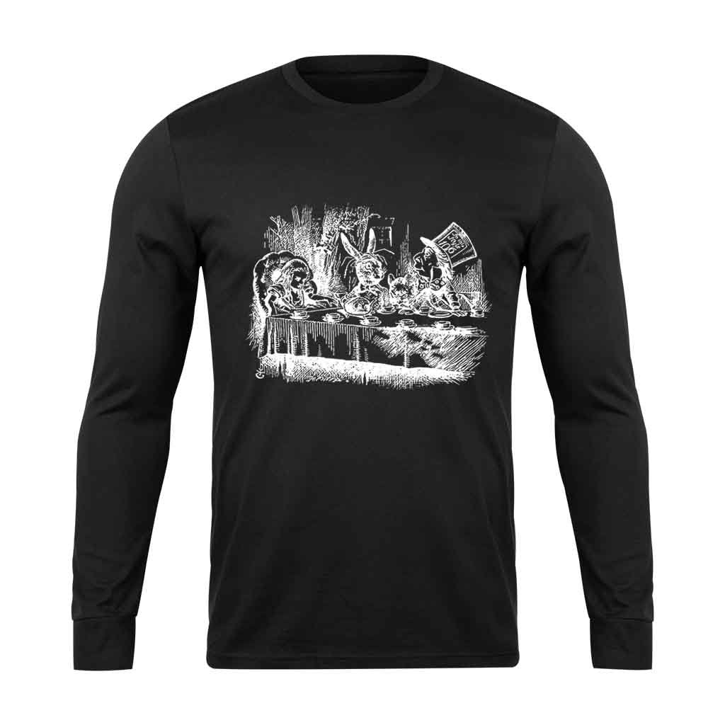 Alice In Wonderland Graphic Long Sleeve T-Shirt