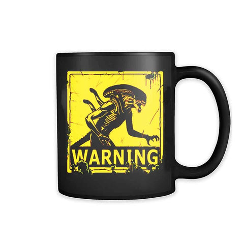 Alien Lv Four Two Six  Warning 11oz Mug