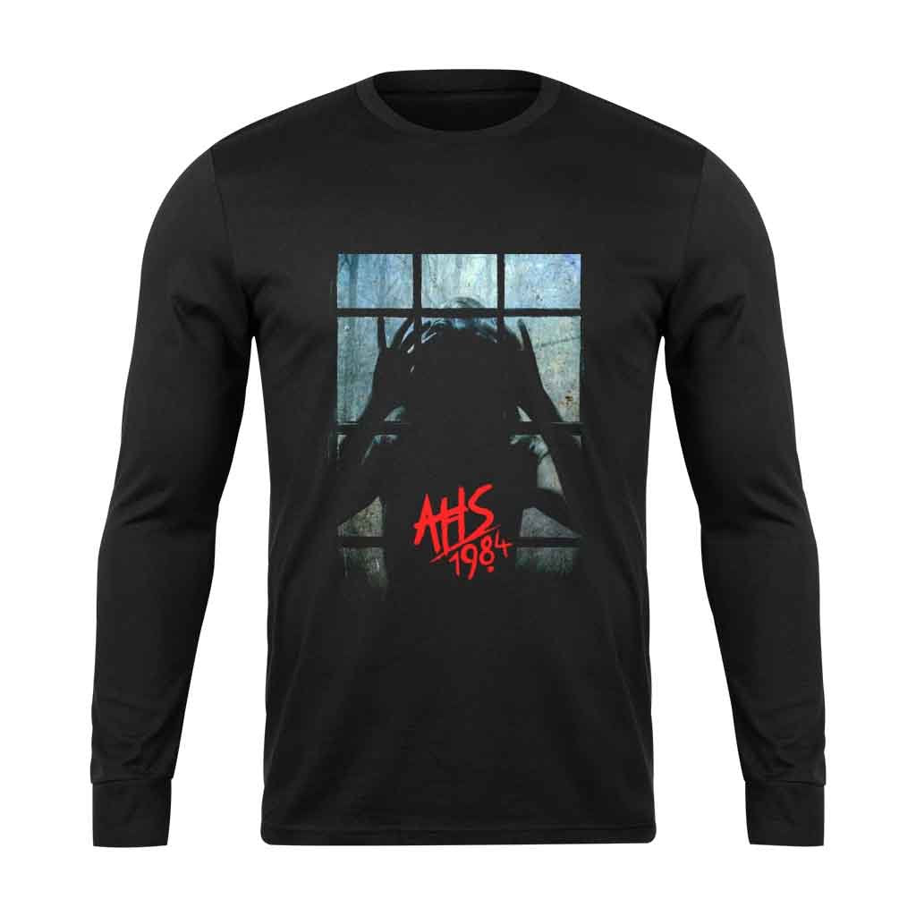American Horror Story 1984 Ahs At Window Long Sleeve T-Shirt