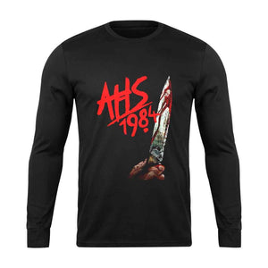 American Horror Story 1984 Logo Blade Long Sleeve T-Shirt
