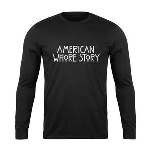 American Horror Story Aws American Whore Story Long Sleeve T-Shirt