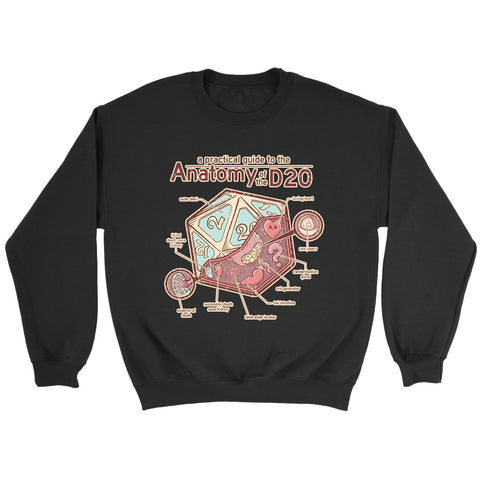 Anatomy Of The D20 Sweatshirt