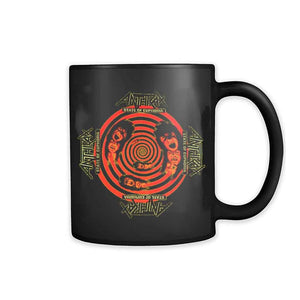 Anthrax State Of Euphoria Yellow  Exodus S.O 11oz Mug
