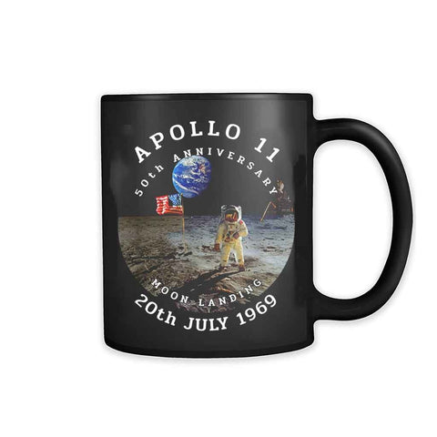 Apollo 11 50thiversary Moon Landing Nasa 1969 2019 11oz Mug