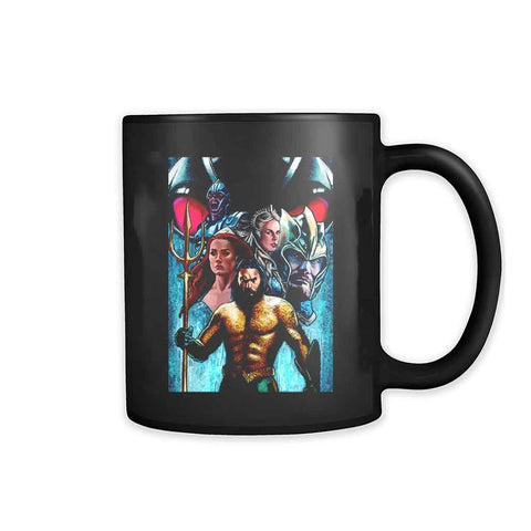 Aquaman Jason Momoa Dc Drawing 11oz Mug